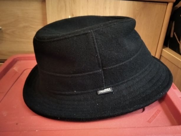 Męskie kapelusz elegancki nowy rozmiar 58