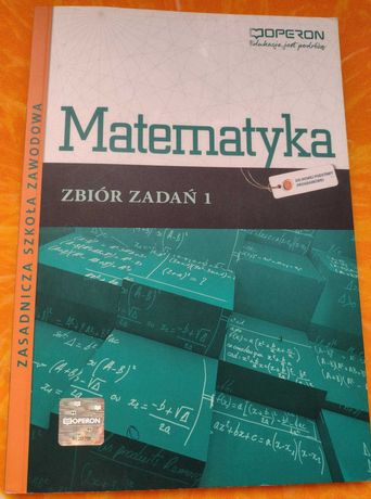 Matematyka OPERON zbiór zadań 1 NOWY