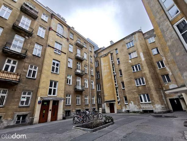 2/3 pokoje 46,4 m2 kamienica Nowogrodzka Centrum