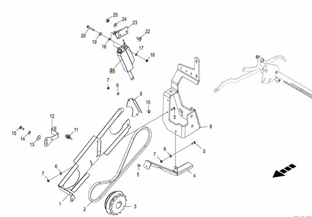 Serwomotor Silnik Krone Combi Pack Round Pack Fortima Comprim