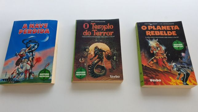 Livros Aventuras Fantásticas