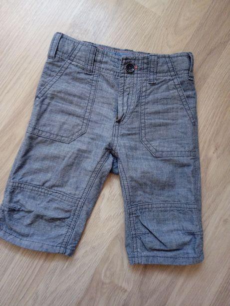 Rybaczki szorty spodenki za kolano H&M L.O.G.G. 92