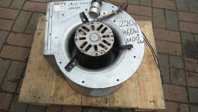 Wentylator elektr 1faz 460 W 1100 obr wyciąg nadmuch na gniazdko 220 V