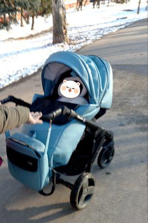 Детская коляска 2 в 1 mirello bair