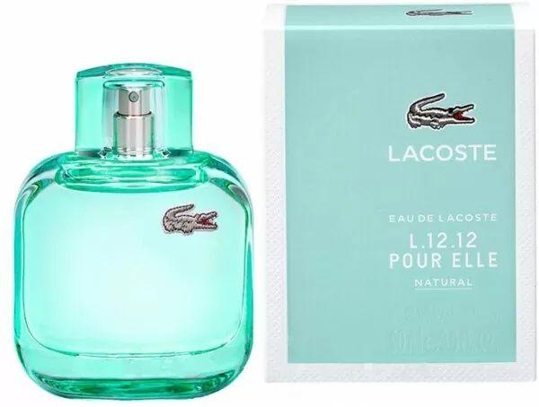 Женская туалетная вода Lacoste L.12.12 Pour Elle Natural 90мл