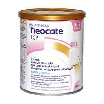 neocate lcp mleko dla alergików