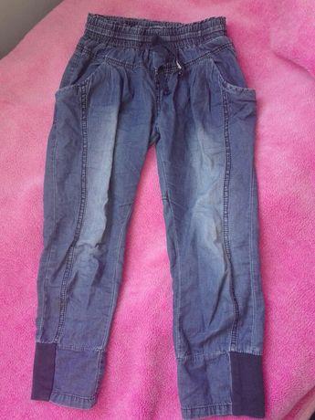 Spodnie z cienkiego dżinsu