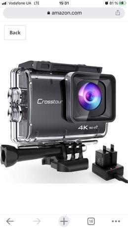 Crosstour CT9500 4K50FPS Екшн-Камера 20MP WiFi Водонепроникна Кам