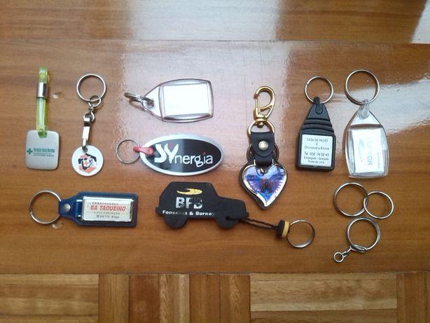 10 Porta-chaves - conjunto