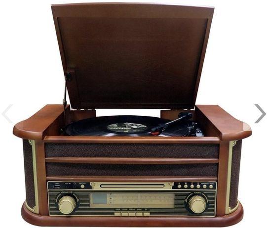 Radio Gramofon Mp3 USB Bluetooth Klasyczne.Nowe Cyberlux CL 3010