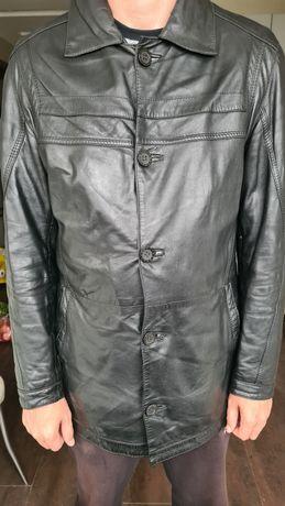 Мужская кожаная куртка 48/ 50-52 р