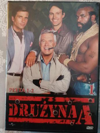 """Drużyna,, A"""" serial na DVD"""