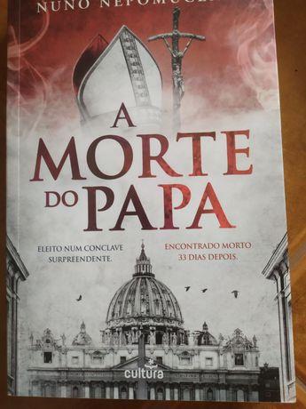 Livro a morte do papa (oferta de portes)