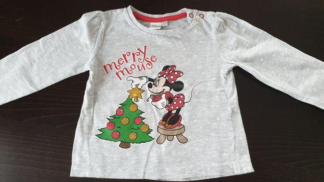 Bluzka dziecięca Disney rozm 86