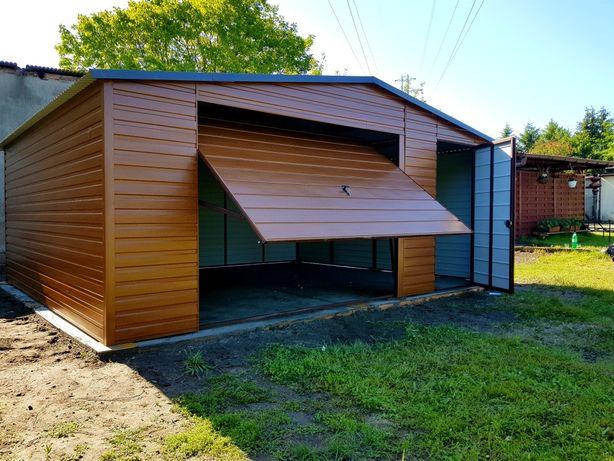 PRODUCENT Garaży blaszanych wzmocnionych (Profil,blaszaki,hale,schowki