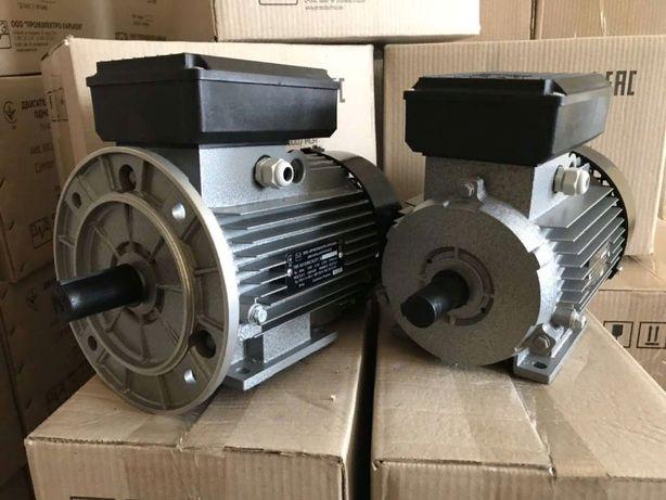 Электродвигатель електродвигун електромотор 2,2, 3,0 кВт 220В АКЦИЯ