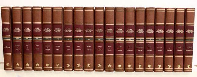 Grande Dicionário Enciclopédico Ediclube 18 Vol mais Atlas Geográfico
