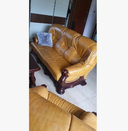 Kanapa Fotel  i pufa
