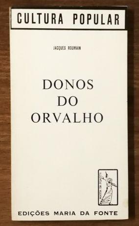 donos do orvalho, jacques roumain, edições maria da fonte
