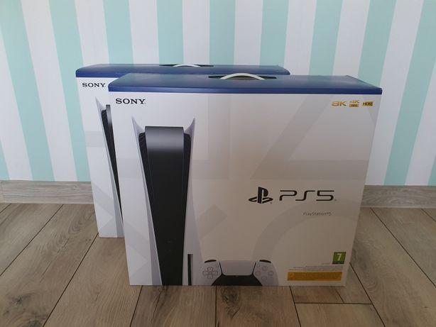 Konsola SONY Playstation PS5 nowa, zaplombowana