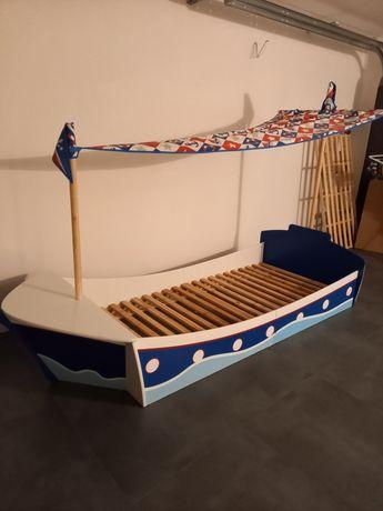 Łóżko dziecięce łódka