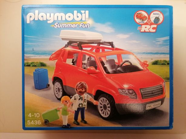 Playmobil Summer Fun Samochód Van Czerwony 5436