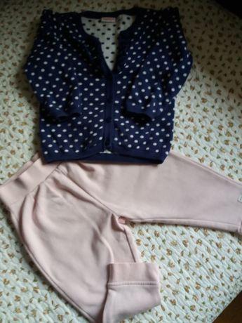 Sweterek  i spodenki dla dziewczynki