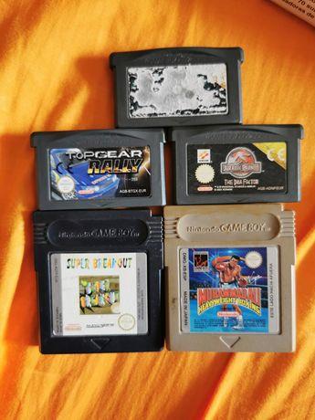 Jogos Gameboy GBC/GBA