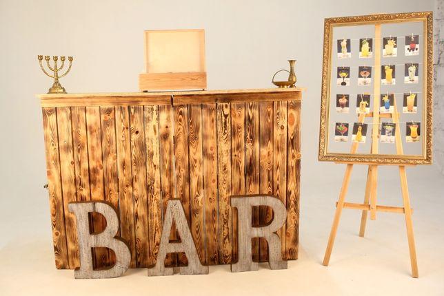 Rustykalny Bar Mobilny