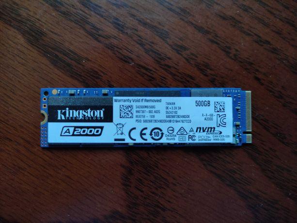 SSD Kingston A2000 500GB NVMe M.2 2280 PCIe 3.0 x4