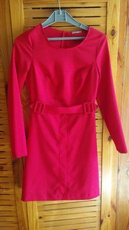 Sukienka czerwona - rozmiar 36