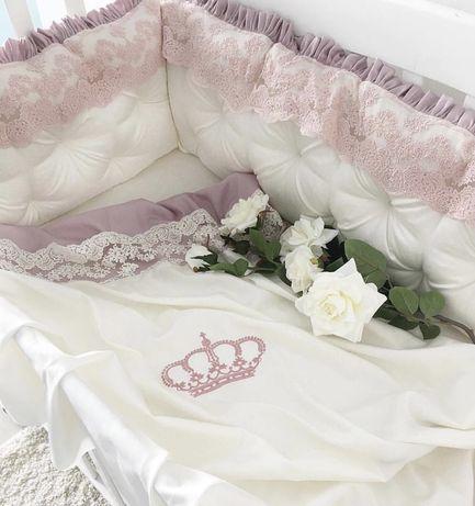 Бортики, одеяло, подушка