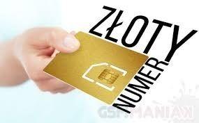 Zloty Numer 500.400.007