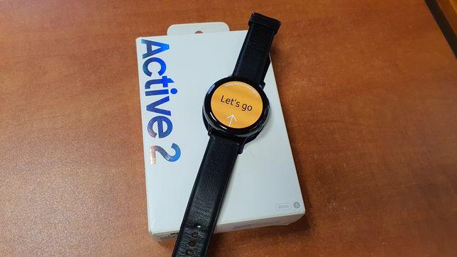 Samsung Galaxy Watch Active 2 44mm czarny, stal, smartwatch, zegarek