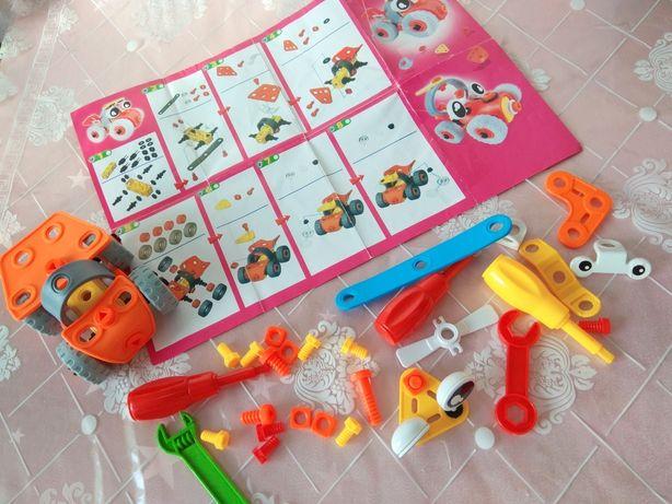 Детский Конструктор 3-8 лет Развивающая игрушка