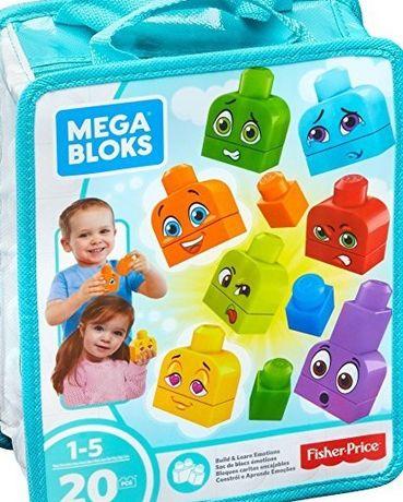Fisher Price Mega Bloks, klocki Buduj i ucz się: Emocje-Nowe