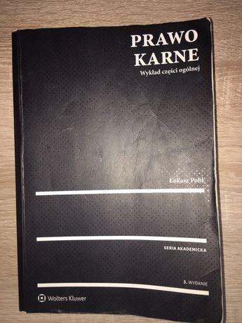 Książka Prawo karne Łukasz Pohl