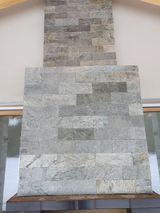 Łupek PŁYTKA SHINE brick stone 10x30x0,8-1,3 Mikołeska - image 1