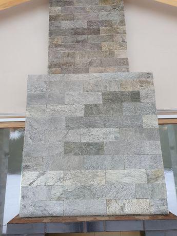 Łupek PŁYTKA SHINE brick stone 10x30x0,8-1,3