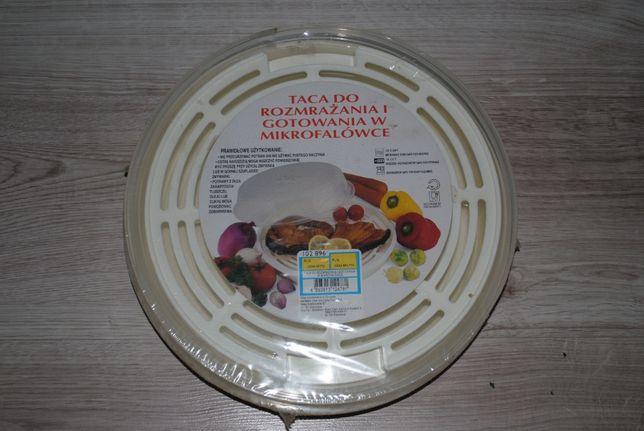NOWA Taca do mikrofalówki - rozmrażanie gotowanie