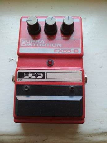 Примочка DOD Supra Distortion FX 55.
