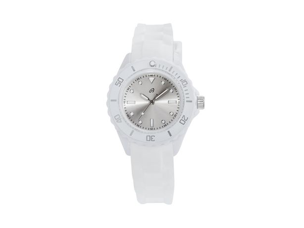 NOVO Relógio de Pulso branco (CAIXA LACRADA)