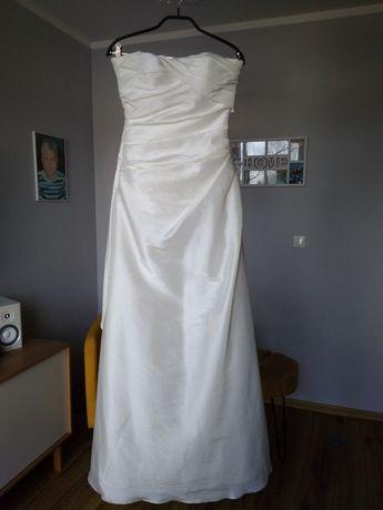 Suknia ślubna r.36 ecru