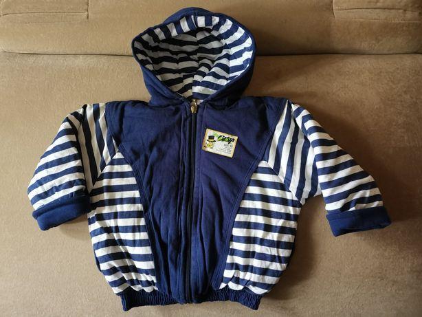 Курточка демисезонная на мальчика 2-3 года, рост 92 см