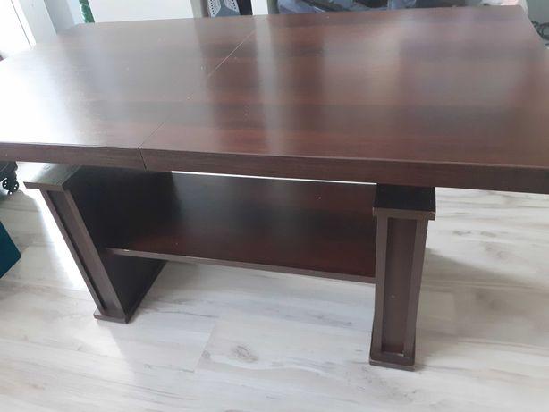 Stół rozkladany,ławostół, podnoszony z półką 120×70 160×70