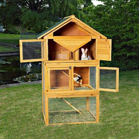 Klatka dla królików, kaczek lub innych gryzoni darmowy kurier KURNIK