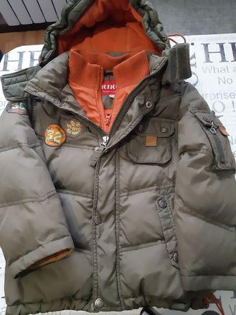 Куртка пуховик зимняя Kiko