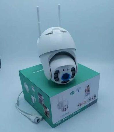 Поворотная Уличная IP камера PTZ/ WiFi/SD/таймер/Влагозащита/микрофон