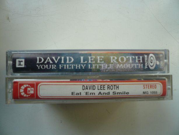 wyprzedaż kolekci kaset magnetof. audio David Lee Roth
