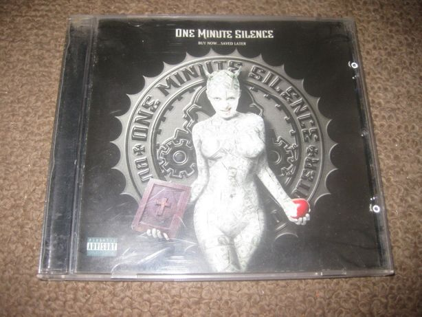 """CD dos One Minute Silence """"Buy Now... Saved Later"""" Portes Grátis!"""